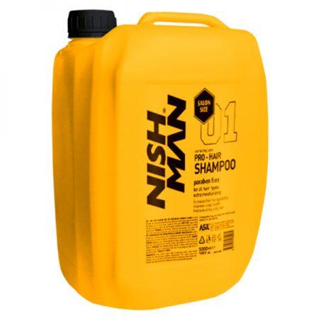 NISH MAN - Sampon pentru par 5000 ml