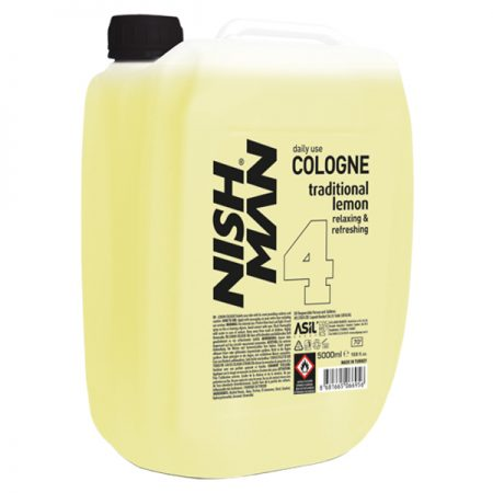 NISH MAN 4 - After shave colonie 5000 ml