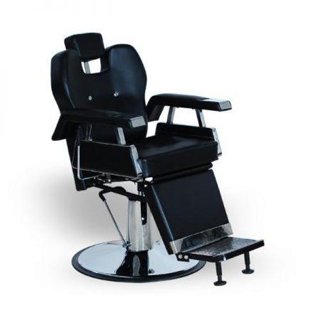 K-CONCEPT - Scaun Frizerie / Barber shop ARTHUR - negru