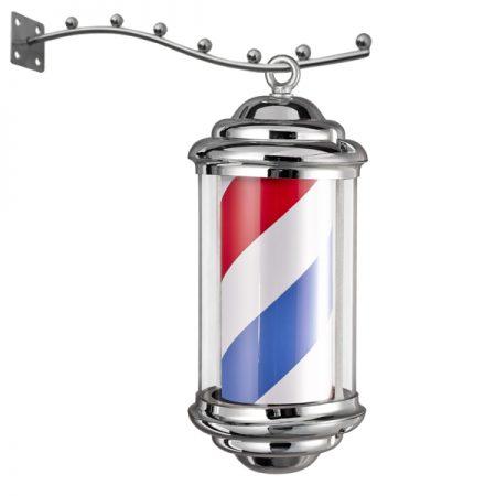 Reclama luminoasa Frizerie / Barber Shop M343D1- BARBER POLE