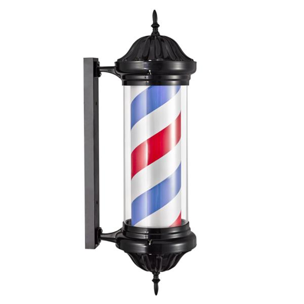 Reclama luminoasa Frizerie / Barber Shop M345DD1 - BARBER POLE