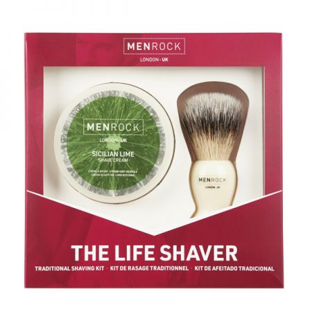 Menrock - Set cadou pentru barbierit Life Shaver