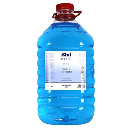 IGEL - Gel dezinfectant bactericid pentru maini - 5000ml