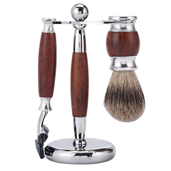 Set barbierit din 3 piese - H08 - Maro