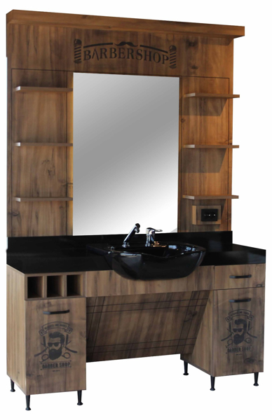 Mobilier Frizerie / Barber Shop - model HT875B