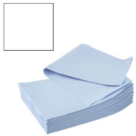 Bavete-Campuri Cosmetice Albe - Prima PE and Paper Medical Towel Tissue 33 x 45 cm