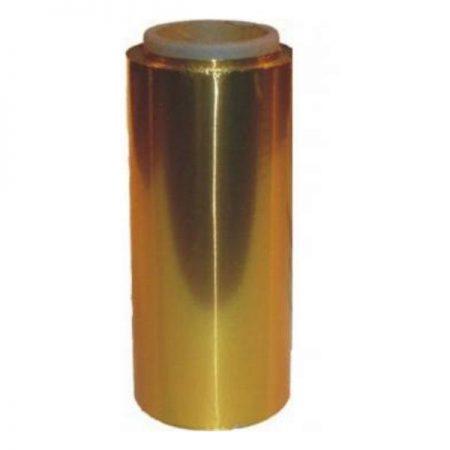 Folie de Aluminiu Aurie 12 cm x 100 m