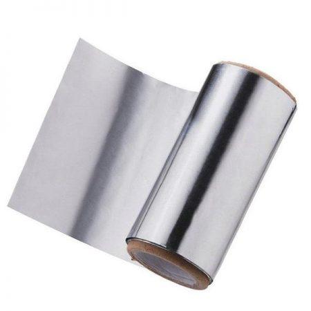 Folie de Aluminiu Argintie 12 cm x 100 m