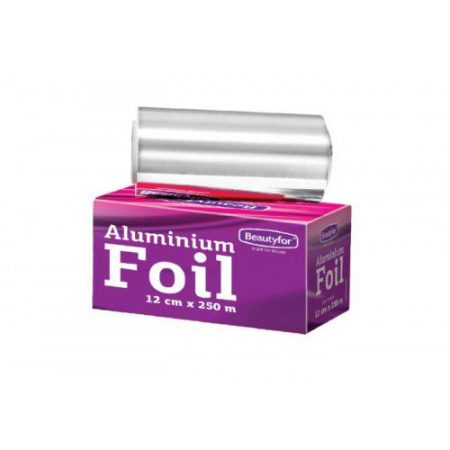 Rola Folie Aluminiu Argintie Suvite - Beautyfor Aluminium Foil for Hairdressing 14 microni