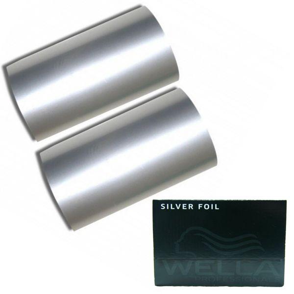 Rola Folie Aluminiu Argintie Suvite - Wella Professional Aluminium Foil Silver