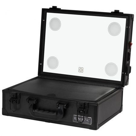 Statie Makeup Portabila Profesionala Mini cu Lumini