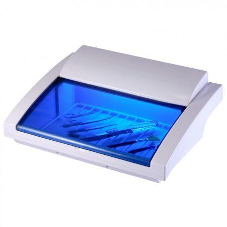 Sterilizator UV mare cu trapa si gratar pentru ustensile manichiura si coafor